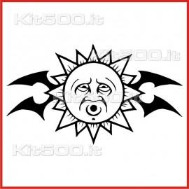 Stickers Adesivo Sole Stanco Tribale