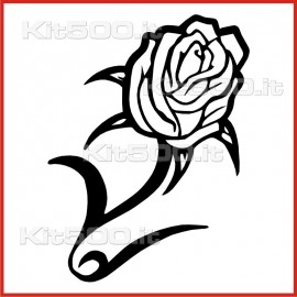 Stickers Adesivo Rosa Chiara