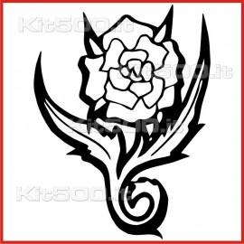 Stickers Adesivo Rosa Spine