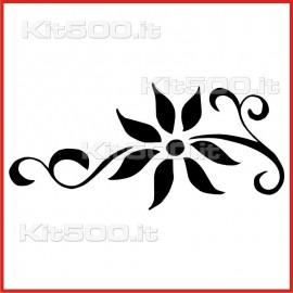 Stickers Adesivo Ramo con Fiore