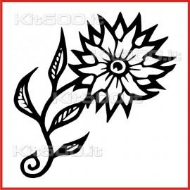 Stickers Adesivo Fiore Star