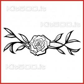 Stickers Adesivo Fiore 019