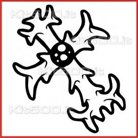 Stickers Adesivo Croce 003