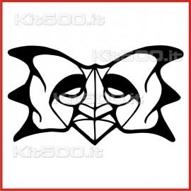 Stickers Adesivo Maschera 004