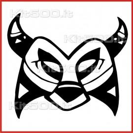 Stickers Adesivo Maschera 006