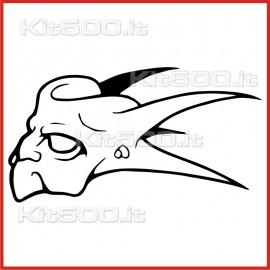 Stickers Adesivo Creatura del Male 006