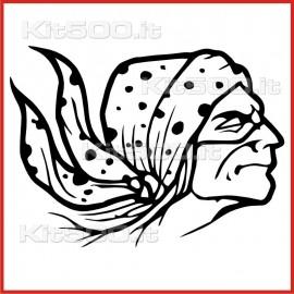 Stickers Adesivo Creatura del Male 010