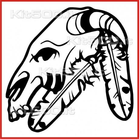 Stickers Adesivo Maschera 028