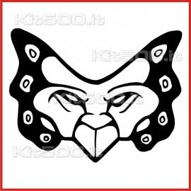 Stickers Adesivo Maschera 031