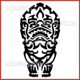 Stickers Adesivo Maschera 034
