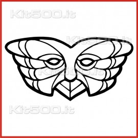 Stickers Adesivo Maschera 035