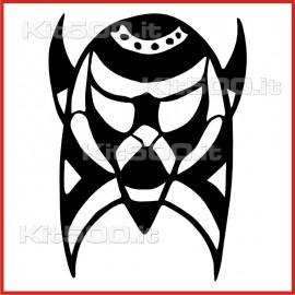 Stickers Adesivo Maschera 037