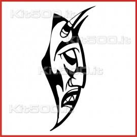 Stickers Adesivo Maschera Profilo