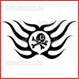 Stickers Adesivo Piovra e Pirata