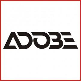 Stickers Adesivo Adobe