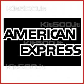 Stickers Adesivo American Express