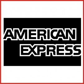 Stickers Adesivo American Express