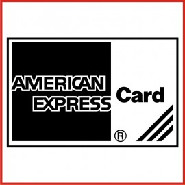 Stickers Adesivo American Express Card