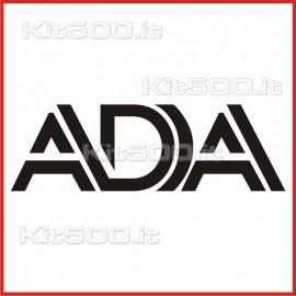 Stickers Adesivo Ada