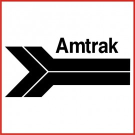 Stickers Adesivo Amtrak