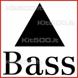 Stickers Adesivo Bass