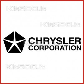 Stickers Adesivo Chrysler Corporation