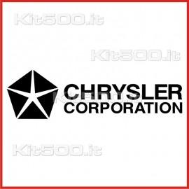 Stickers Adesivo Chrysler Corporation