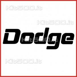 Stickers Adesivo Dodge