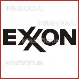 Stickers Adesivo Exxon