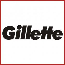 Stickers Adesivo Gillette