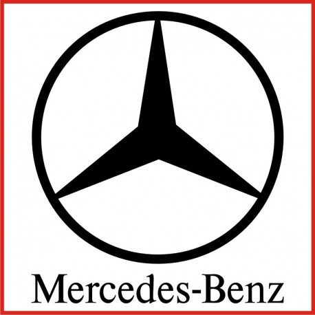 Stickers adesivo mercedes benz for Mercedes benz logo decals stickers