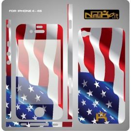 Skin IPhone 4/4S AMERICA